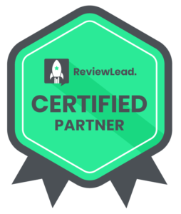 ReviewLead Badge Green